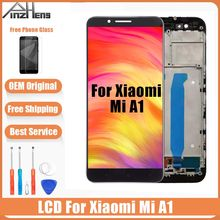 AAAA Original LCD For Xiaomi A1 Screen Display Digitizer Assembly Replacement LCD For Xiaomi A1 Screen With Frame стоимость