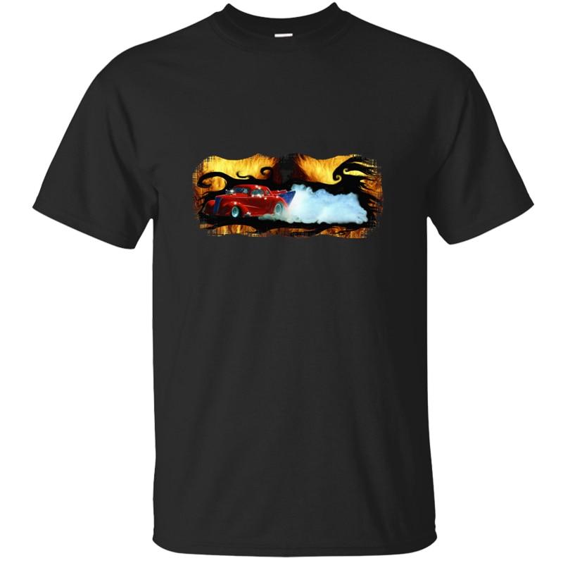 Personality Better red doorslammer dragracing car t shirt man Clothes Novelty tee shirt Short Sleeve Round Collar Tee top