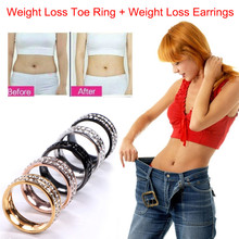 Magnetic Weight Loss Ring Stimulating Slimming Ring Acupoints Gallstone Ring Health Care Ring Weight Loss String Fitness Reduce