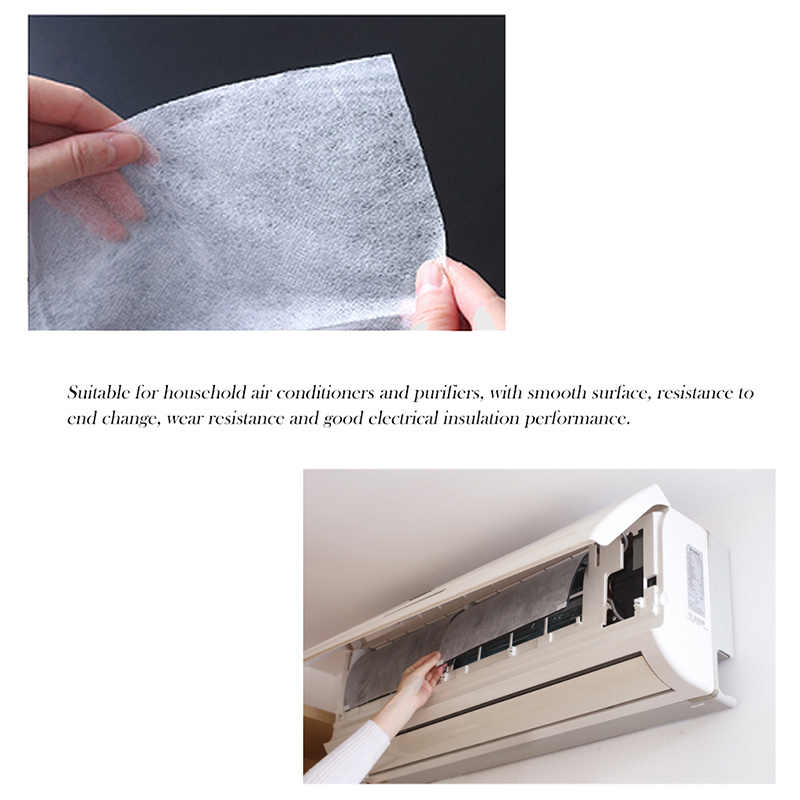 Air Condition Filter 2 Pcs/Pack Dustproof Paper Net Adhesive Purifying for Home Bedroom K888