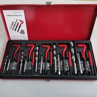 M5 M6 M8 M10 M12 Durable Thread Repair Tool Helicoil Rethread Repair Kit Garage Workshop Tool Professional Recoil Repair Tool