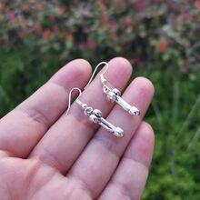 Érotique pénis boucles d'oreilles femmes modernes discothèque fête accessoires de mode mâle organes génitaux Original amulette bijoux boucles d'oreilles