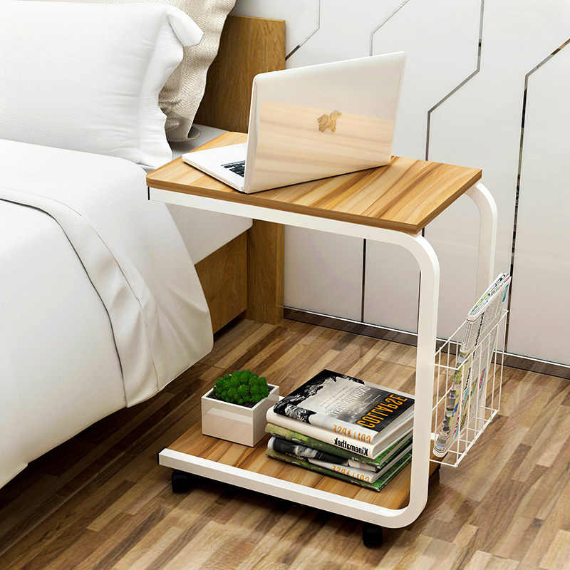 Modern Minimalist Corner Bedroom Table Small Coffee Table Moving Bedside Table Living Room Mini Sofa Cabinet Side Cabinet Aliexpress