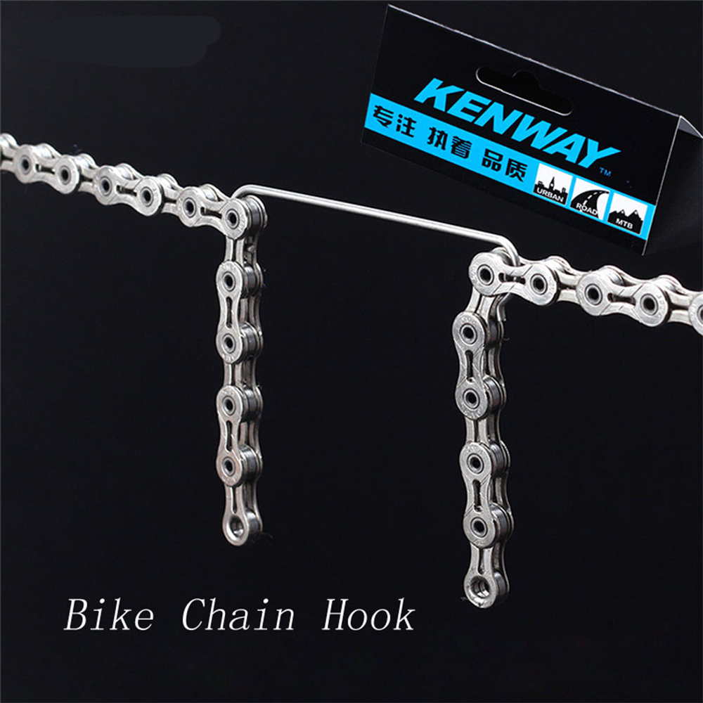 RISK 304 Stainless Steel MTB Road Bike Chain Hooks Ultralight Bicycle Connecting Aid Tools High Quality Cycling Repair Tools