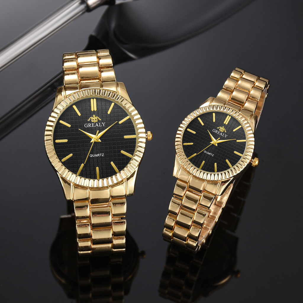 Couple Watch Clock Dress Casual Fashion Women Ladies Luxury Quartz Top-Brand title=