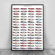 Treiber F1 Racing Auto Ayrton Senna Poster Kunst Leinwand Malerei Wand Bilder Wohnzimmer Wohnkultur