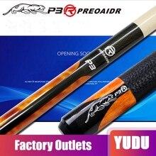 PREOAIDR 3142 P3R Pool Cue Billiard Stick 10mm/11.5mm/13mm Tip Blue/Orange/White/Brown Color Professional 2019 China Pool Cue стоимость