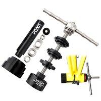 Narzędzia do naprawy roweru Lixada wspornik dolny roweru instalacja i narzędzie do usuwania zestawu narzędzie do usuwania roweru do BB86/BB30/BB91/BB92/PF30 w Narzędzia do naprawy roweru od Sport i rozrywka na