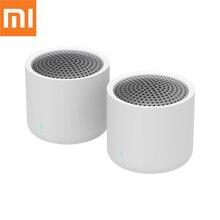 Оригинальная Беспроводная портативная Bluetooth Колонка Xiaomi 5,0, музыкальное аудио 2,0, TWS стерео звуковая колонка с микрофоном для iPhone, ipad, планшетов