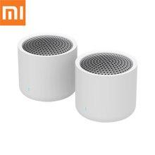 Оригинальная Беспроводная портативная Bluetooth-Колонка Xiaomi 5,0, музыкальное аудио 2,0, TWS стерео-звуковая колонка с микрофоном для iPhone, ipad, планшет...
