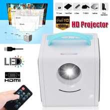 1080P Mini Full HD Projector Home Theater WiFi Projector Por