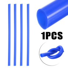 Blue 0.3M Car Silicone Vacuum Hose Tube Pipe 8mm Inner 12mm Outer 43.5 PSI to 130.5 Clamps for Auto Cooling Systems