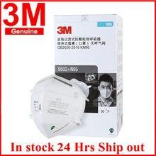 50 pièces/boîte N95 masque 3M 9502 + KN95 masques visage réutilisables respirateur filtre bandeau sécurité Original 3M Mascarillas