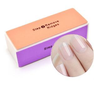 1Pcs Colorful Nail File Buffer Polishing Block Sanding Nail Art Manicure Sponge Setback Professional Nail Art Tools