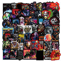 108Pcs Disney Marvel Comic Thanos Stickers Kids Toys Waterproof Skateboard Luggage Laptop Guitar Decals The Avengers Sticker