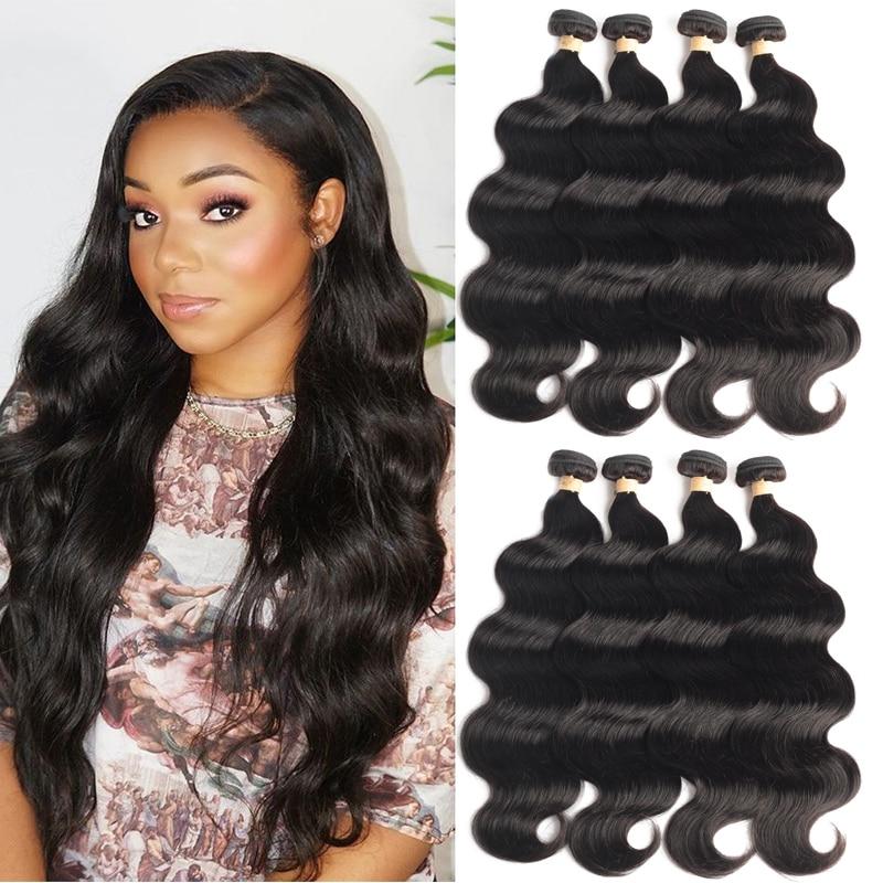 Sapphire Hair 5/10 Bundles Deals Brazilian Body Wave Hair Bundles 100% Human Hair Remy Hair Bundles Natural Color Hair Extension