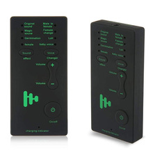 Portable Mini Multi-mode Voice Audio Changer Voice Disguiser Universal Live Sound Card for Smartphone Tablet Computer