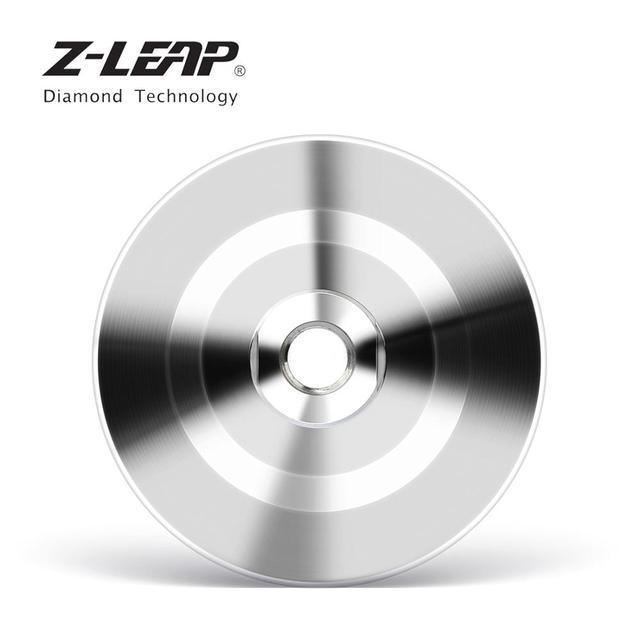 "Z-LEAP 4"" Diamond Grinding Cup Wheel Aluminum Base Turbo Abrasive Tool For Concrete Granite Floor Coarse Grinding M14 Thread 1"