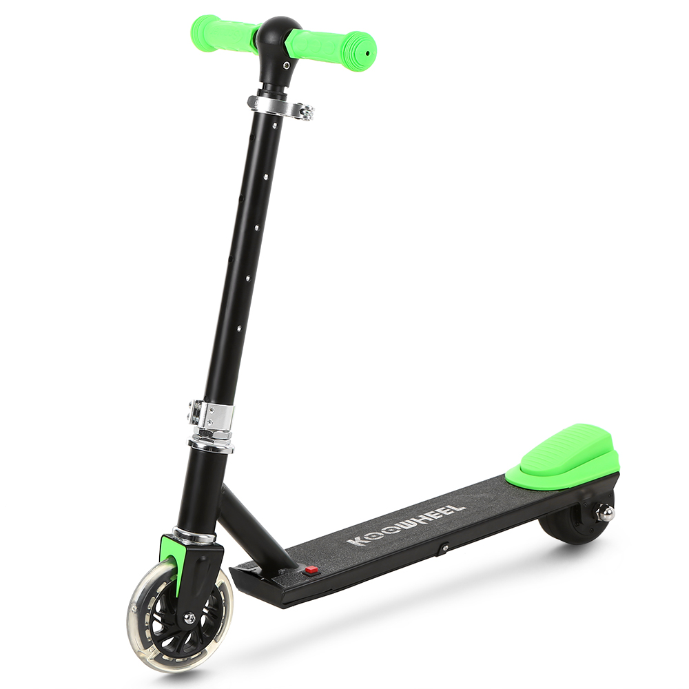 Two Wheel Electric Scooter For Kids Height Adjustable 10km Max Range 3 Level Height Adjustment Gift Kids Birthday Aluminum Alloy