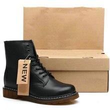 Dr Couple Boots Men Martens Boots Genuine Leather W