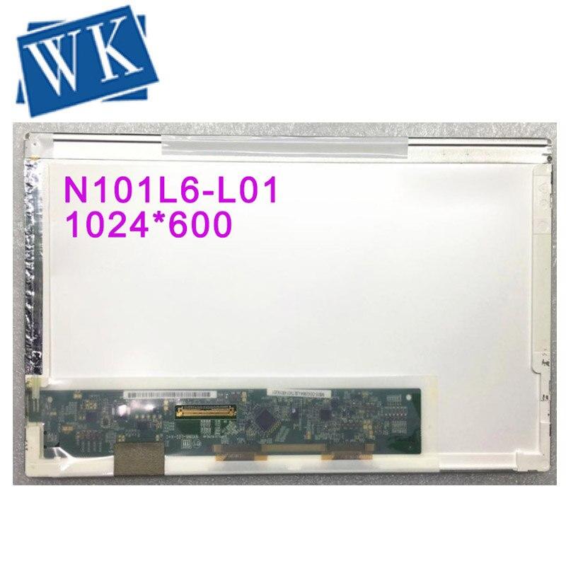 Где купить Бесплатная доставка N101L6-L01 L0A N101LGE-L11 LP101WSA-TLB1 B101AW03 V.1 LTN101NT02 светодиодный дисплей экран ноутбука 1024*600 LVDS 40 PIN