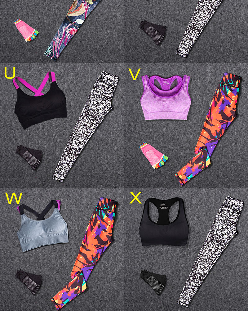 WOMEN Fitness Sports Suits (2)