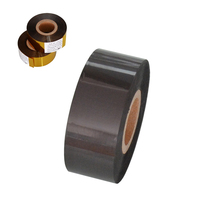 black color Width 30mm length 100m hot ink ribbons for the industry of food and pharmacy