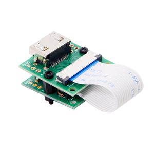 Image 1 - CYDZ Raspberry PI Camera Module to HDMI compatible Type A Male HDTV FPC Flat Cable 5cm fit for PES001