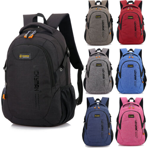 Sports Backpack Hiking Rucksack Men Women Unisex Schoolbags Satchel Bag