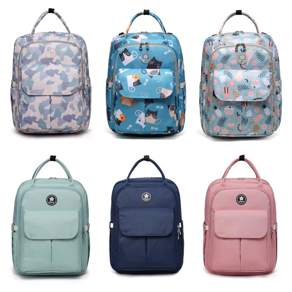 6 Colors Multifunction Baby Diaper Bag Waterproof Mommy Handbag Large Capacity Maternity Backpack Baby Care Stroller Nappy Bags