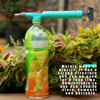 1PC High Pressure Air Pump Manual Sprayer Adjustable Drink Bottle Spray Head Nozzle Garden Watering Tool Portable Pump Sprayer