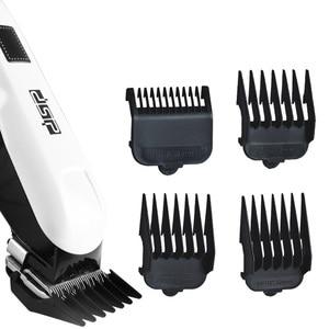 Image 5 - Powerful adjustable hair clipper professional electric cordless hair trimmer beard electric hair cutting machine haircut for men