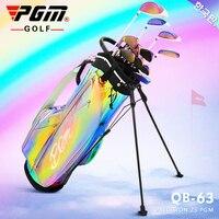 Pgm Portable Golf Stand Bag Golf Bags Men Women Waterproof Golf Club Set Bags Stand 14 Sockets Dazzling Lightweight Sport Bag
