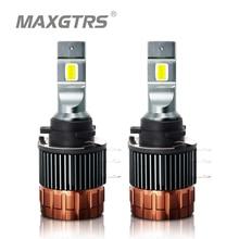 H15 LED Canbus วันทำงานไฟหน้ารถสำหรับ Mazda 6 CX5สำหรับ Mercedes A180 GLK Q7สำหรับ BMW กอล์ฟ6 7 A260ข้อผิดพลาดฟรี