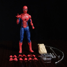 15cm Avengers Super hero Spider-Man PVC action figure toys Homecoming Spider Man SpiderMan collectible model