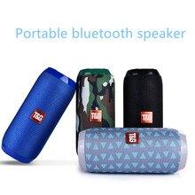 цена на Portable Bluetooth Speaker  Waterproof Outdoor Speaker Support AUX TF USB Subwoofer Stereo 20w Wireless BassColumnLoudspeaker