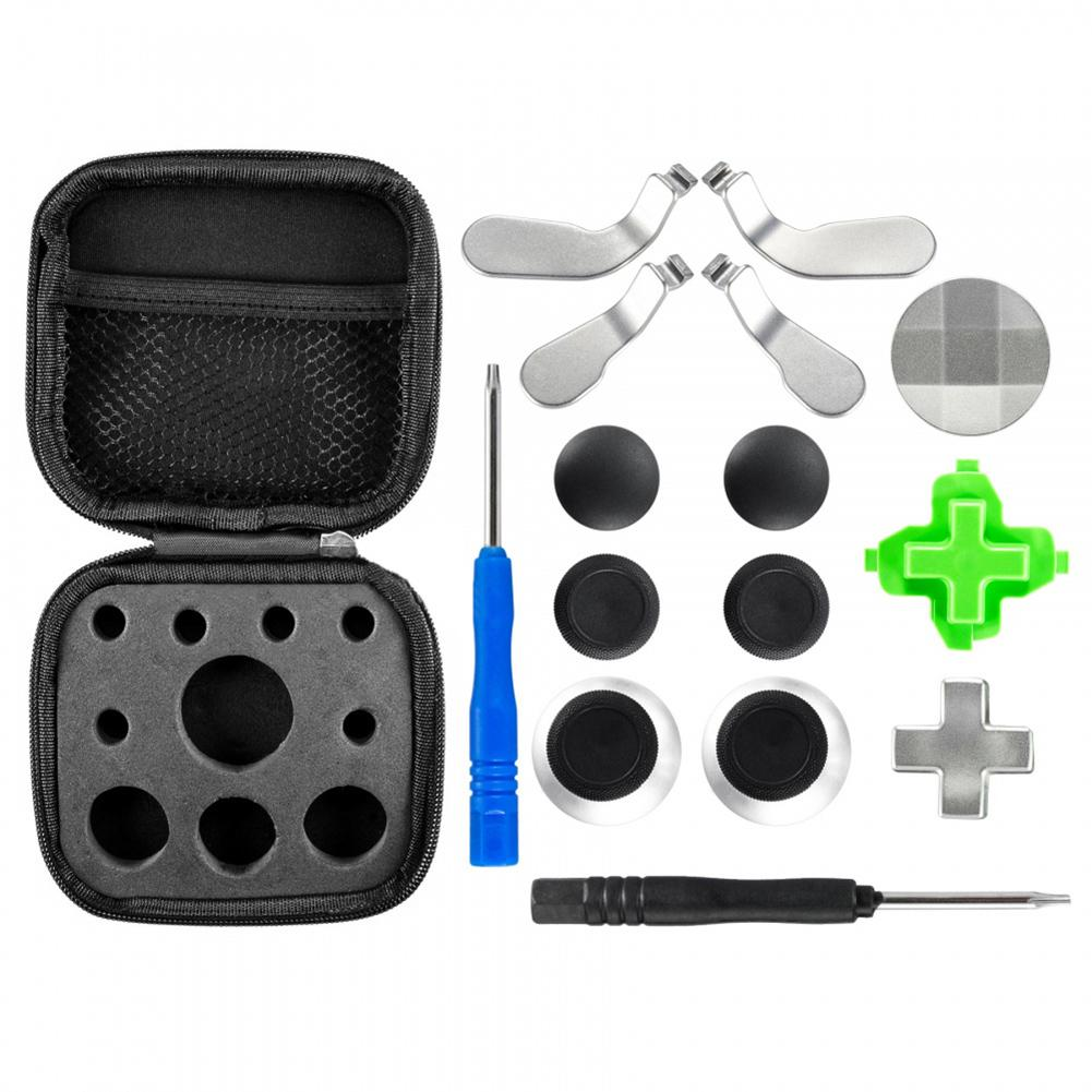 Replacement Full Set Controller Buttons D-Pad Paddle Rings For Xboxs One Elites