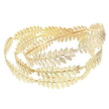Fashion Color Leaves Hairbands Wedding Headpiece Bridal Hair Accessories Wedding Crowns Gold Tiaras Forehead Head Jewelry exellent full aaa cz crowns tiara bridal wedding hair jewelry accessories pageant headpiece tr15063