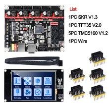 BIGTREETECH SKR V1.3 kontrol panosu kitleri 32Bit + TMC5160 V1.2 + TFT35 V2.0 dokunmatik ekran 3D yazıcı parçaları vs MKS GEN L tmc2130 Skr pro
