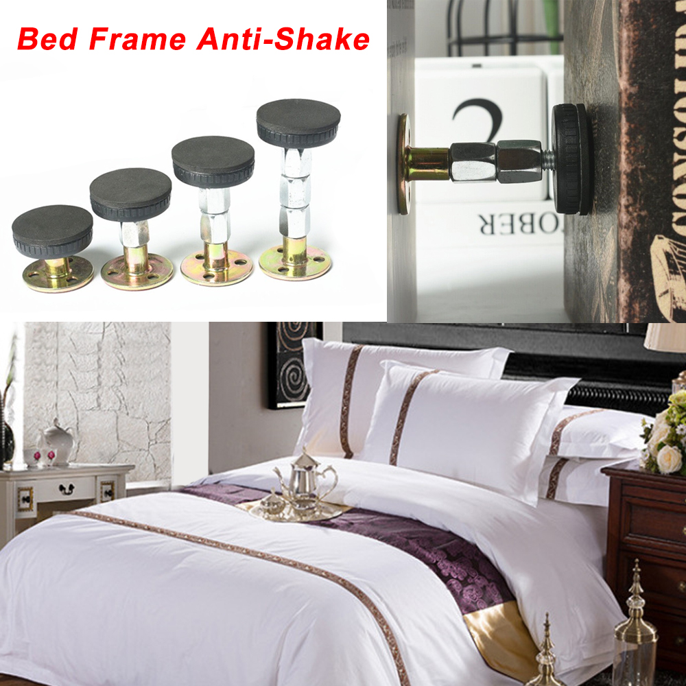 33-110mm Adjustable Threaded Bed Frame Anti-shake Tool Telescopic Support For Room Wall 3