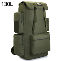 110L 130L Men Hiking Bag Camping Backpack Large Army Outdoor Climbing Trekking Travel Rucksack Tactical Bags Luggage XA860WA