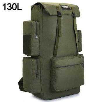 110L 130L Men Hiking Bag Camping Backpack Large Army Outdoor Climbing Trekking Travel Rucksack Tactical Bags Luggage XA860WA