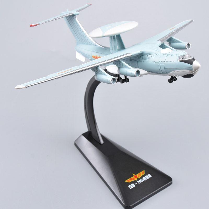 Modèle d'avion en alliage 1:200 KJ-2000 très délicat, combattant militaire en métal de simulation, collection avancée et cadeau, livraison gratuite
