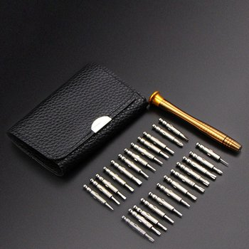 25 in 1 Precision Torx Screwdriver Cell Phone Wallet Repair Tool Kit for Mobile Phone Cellphone Electronics PC image