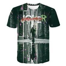 Joker Be reborn 2020 new the Joker 3d t shirt funny comics character joker with poker 3d t-shirt summer harajuku style tees top