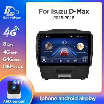 Prelingcar Android 10 For chevrolet colorado isuzu D-MAX D-MUX Car Radio Multimedia Video Player GPS Navigation NO DVD 2 Din 4G image