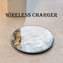 Qi Wireless Charger+USB Type C Receiver Wireless Charging for Huawei Honor 9 10 20 P9 P30 P20 Lite Mate 20 9 10 Pro