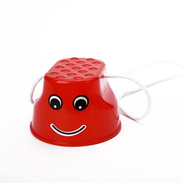 2 개/대/세트 stilt 장난감 간단하고 내구성 균형 stilt 감각 훈련 어린이 게임