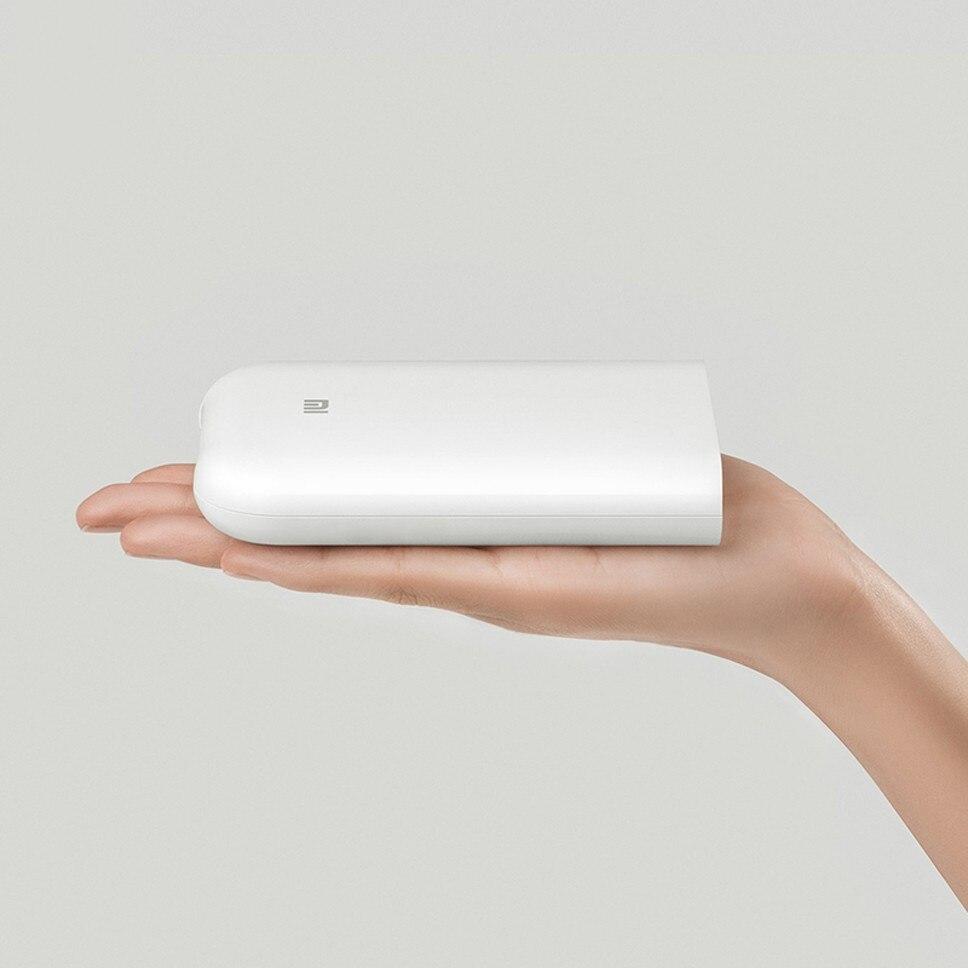 Xiaomi Bluetooth imprimante ZINK impression 300dpi AR Photo Portable Mini imprimante de poche bricolage Photo papier imprimantes pour iphone Android - 2