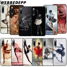WEBBEDEPP Ballerina Dancing Soft TPU Case for Xiaomi Mi 6 8 A2 Lite 9 A1 Mix 2s Max 3 F1 9T A3 Pro CC9E Cover